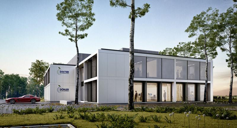 Budynek biurowy PURE, Warszawa. Projekt: Mobius Architekci
