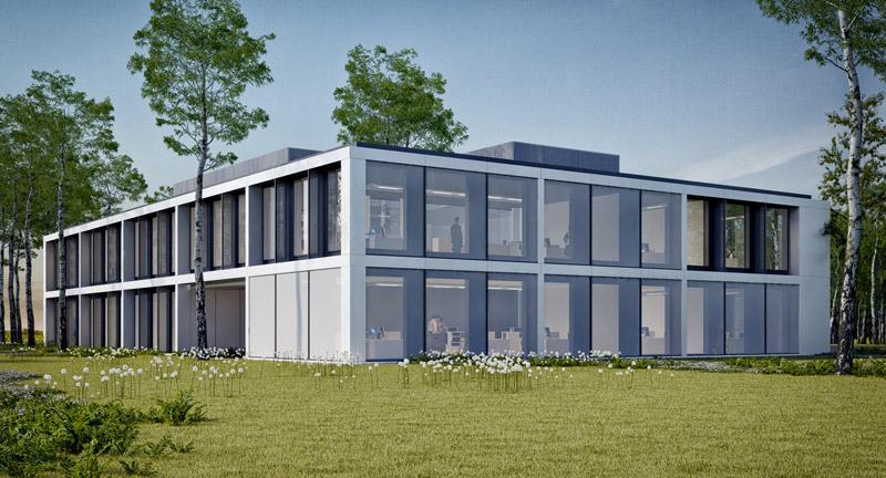 Budynek biurowy PURE. Projekt: Mobius Architekci