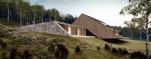 Willa letniskowa projektu Mobius Architekci
