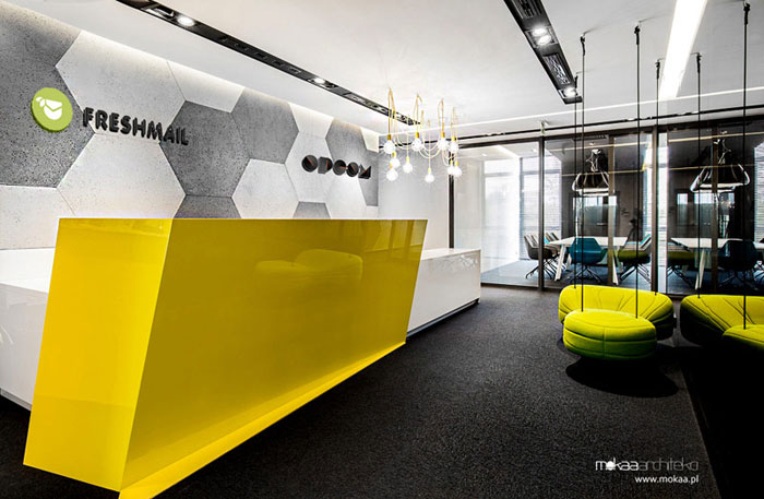 Nowa siedziba firm FreshMail i OPCOM. Projekt: Mokaa Architekci