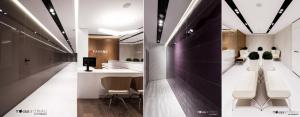 Wnętrza Kliniki Parens projektu Mokaa Architekci