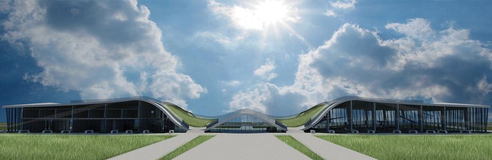 Dyplomy Architektury: Lotnisko w Bielsku-Białej. Autor: inż. arch. Michał Pyka