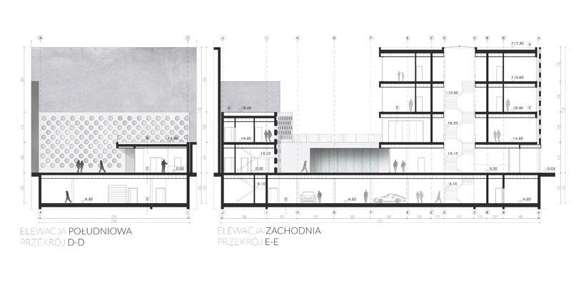 Projekt Hotelu w Łodzi. Autor: Patryk Ławrynowicz