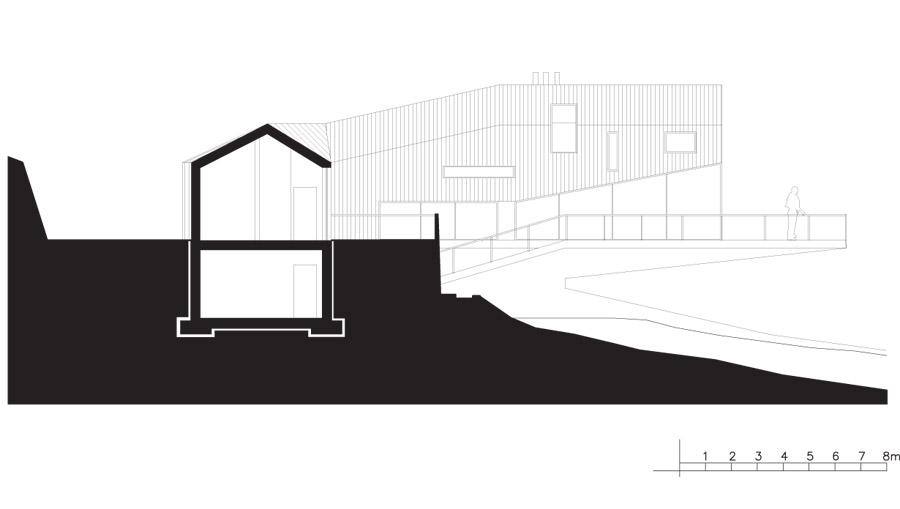 Ledge House. Projekt: Zalewski Architecture Group