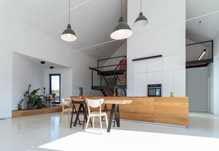 Dom na Jurze. Projekt: Kropka Studio