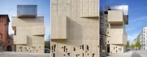 Muzeum Rysunku Architektonicznego Fundacji Tchoban w Berlinie. Proj: SPEECH Tchoban & Kuznetsov