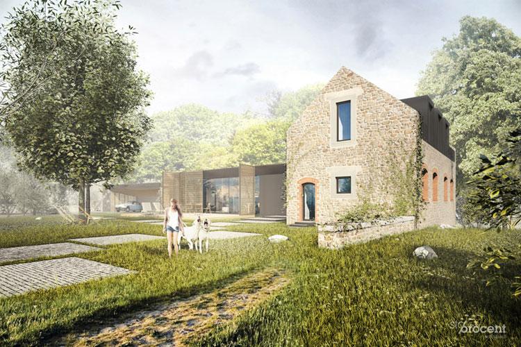 Dom w Bretanii / Projekt: Stoprocent Architekci