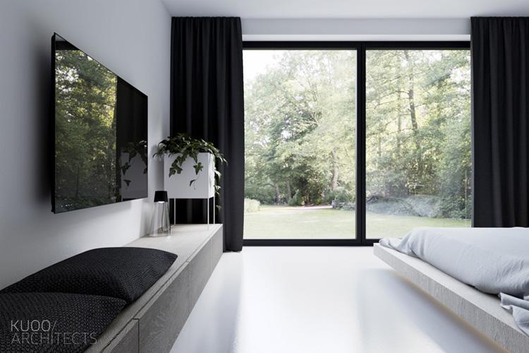 Wnętrza domu w Luxemburgu. Projekt: KUOO/Architects