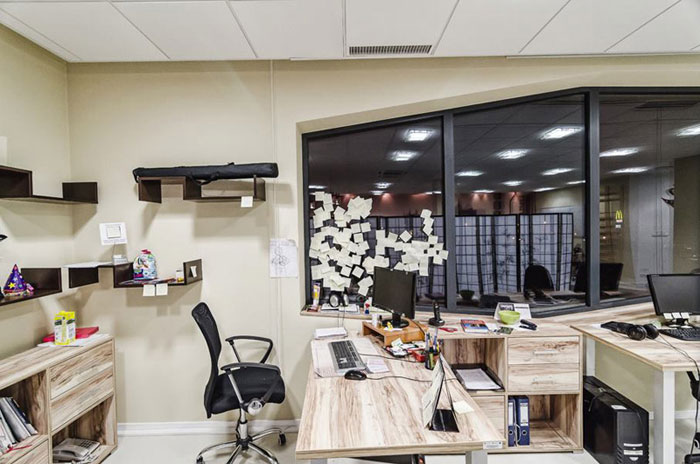 Wnętrza biurowe Grupy Adweb