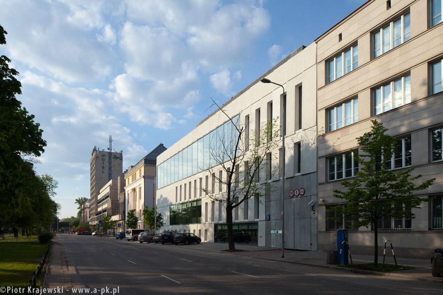 Akademia Sztuk Pięknych w Warszawie. Zdjęcia: Piotr Krajewski