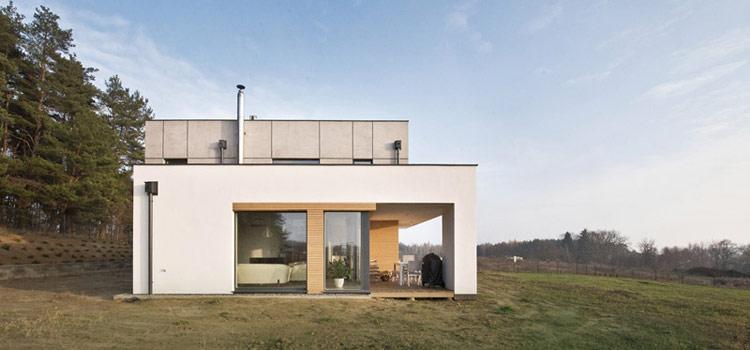Dom w Straszynie. Projekt: JPP ARCHITEKCI / LUK STUDIO
