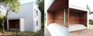 Projekt przebudowy elewacji domu jednorodzinnego w Kiekrzu – ONE Architekci