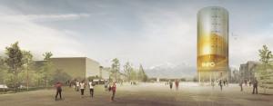 Pawilon Informacyjny Wystawy EXPO 2015 w Mediolanie - I Nagroda