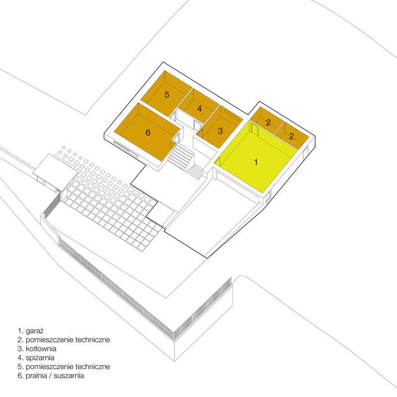 Dom Kostka Polska. Projekt: BXBstudio Bogusław Barnaś