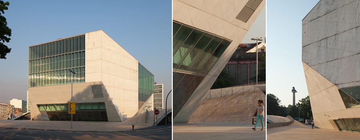 Casa da Música, Porto, Portugalia. Projekt: OMA | Rem Koolhaas. Zdjęcia: Piotr Krajewski