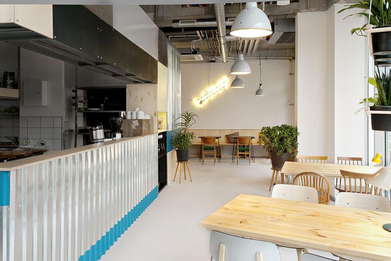 Restauracja START w Poznaniu. Projekt: R2D2 Kolektyw