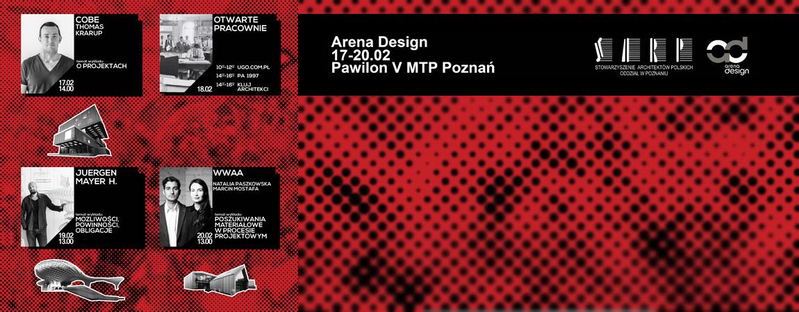 Arena Design 2015. 17-20 Lutego, 2015, Poznań.