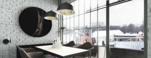 Wnętrza loftu w Gliwicach – Grupa Projektowa POZÓR