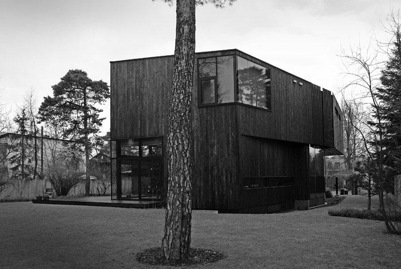 Dom pod dębem. Projekt: SDA Architekci