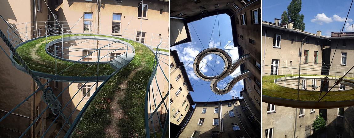 Balkon Walk-on w Gliwicach. Projekt: Zalewski Architecture Group