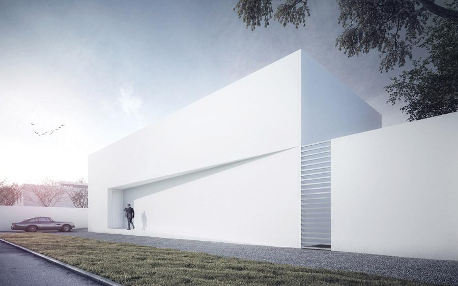 Dom No.1 w Warszawie. Projekt: Autorska Pracownia Projektowa ARTECTONICA
