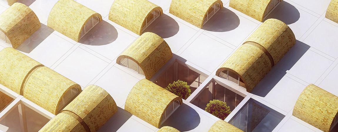 Centrum Kultury w Bamiyan, Afganistan. Projekt konkursowy: BXBstudio Bogusław Barnaś