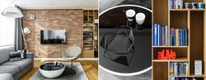 Mieszkanie na osiedlu Apartamenty na Polanie w Gdyni – Pracownia Projektowa Dragon Art