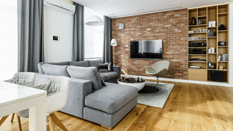 Mieszkanie na osiedlu Apartamenty na Polanie w Gdyni. Projekt: Pracownia Projektowa Dragon Art