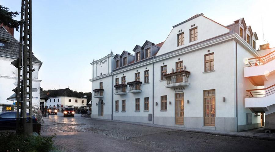 Przebudowa oraz nadbudowa kamienicy w Kazimierzu Dolnym. Projekt: Grupa 5 Architekci