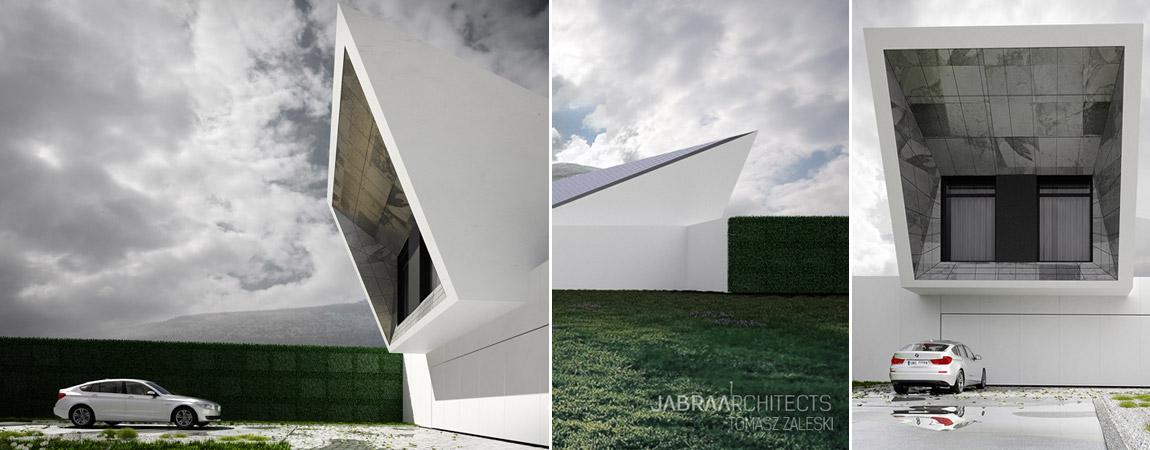 Skyfall House. Projekt: JABRAARCHITECTS