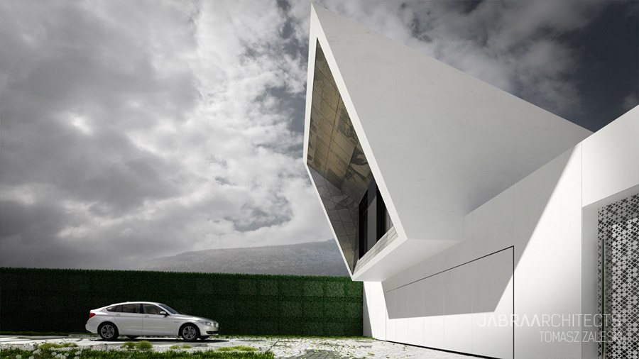 Skyfall House. Projekt: JABRAARCHITECTS