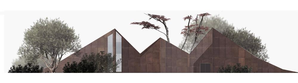 Współczesny dom wiejski. Projekt: Monika Kraszewska