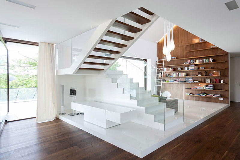 Wnętrza Domu EDGE. Projekt: Mobius Architekci