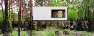 Niezwykły Lustrzany Dom pracowni Reform Architekt