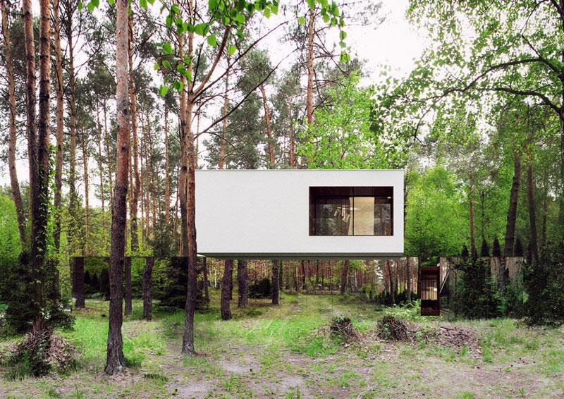 Lustrzany Dom. Projekt: Reform Architekt