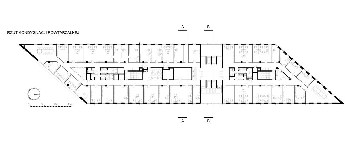 Centrum Usług Korporacyjnych w Płocku. Projekt: SDA Architekci
