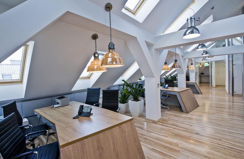 Wnętrza biurowe firmy A.T. Kearney. Projekt: TiM Grey Interior Design
