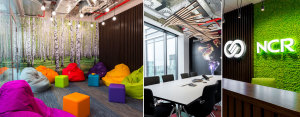 Wnętrza biurowe NCR Polska projektu TiM Grey Interior Design