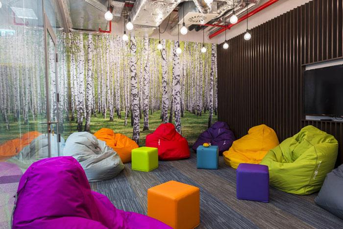 Wnętrza biurowe NCR Polska. Projekt wnętrz: TiM Grey Interior Design