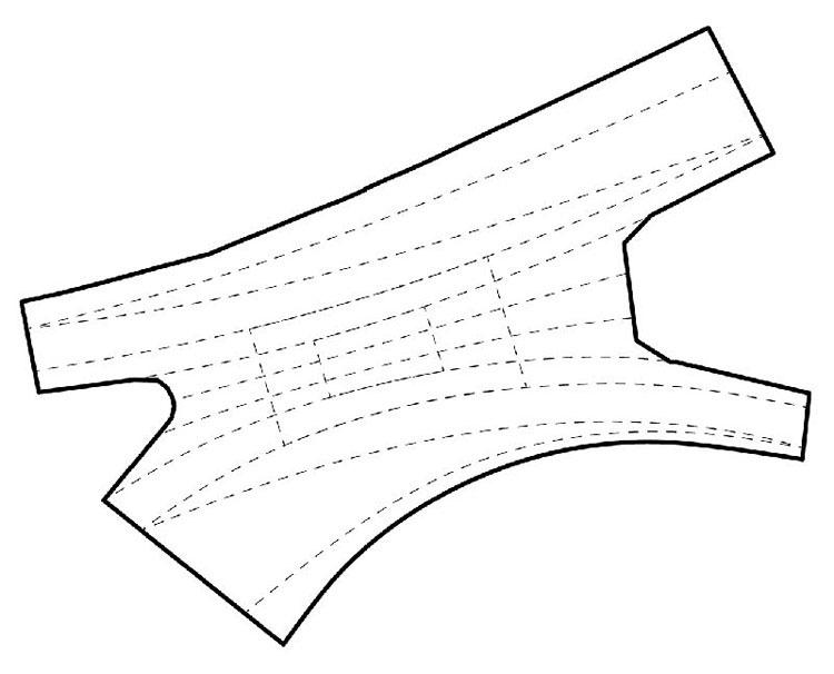 Parametryczna posadzka miejska - Rewitalizacja ulic w centrum Rybnika. Autorzy: toprojekt