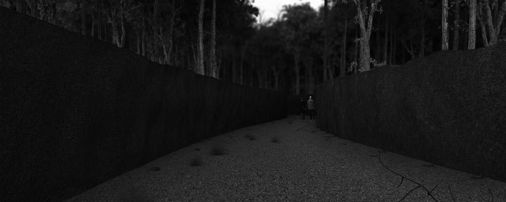 Memorium Ofiar Obławy Augustowskiej - Projekt dyplomowy Aleksandry Cywoniuk