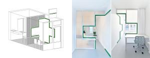 Dent Protetyka – Punkt napraw protez na 10m2 – Adam Wierciński Architekt