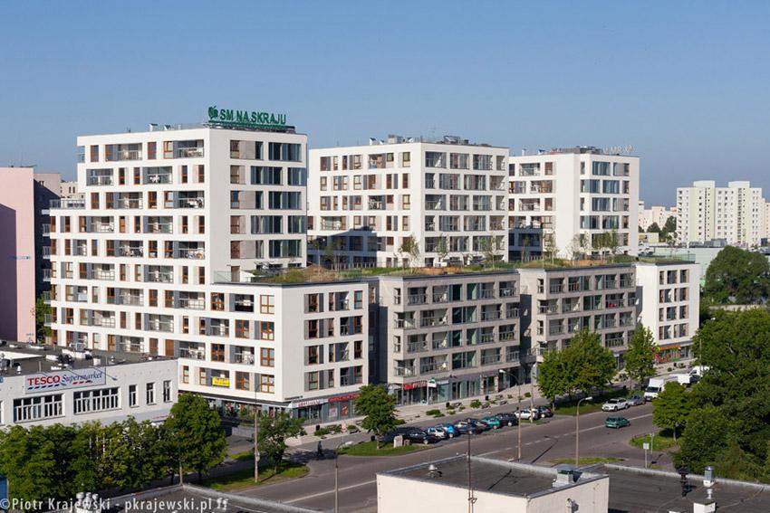 Cynamonowy Dom w Warszawie. Projekt: S.A.M.I. Architekci. Zdjęcia: Piotr Krajewski