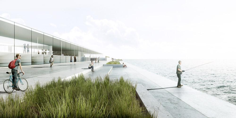 Nowe Oceanarium w Gdyni - Dyplom roku 2015. Projekt: Mikołaj Adamus