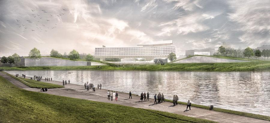 Dyplomy architektury: Adaptacja hotelu Forum w Krakowie. Autor: Alicja Nowak