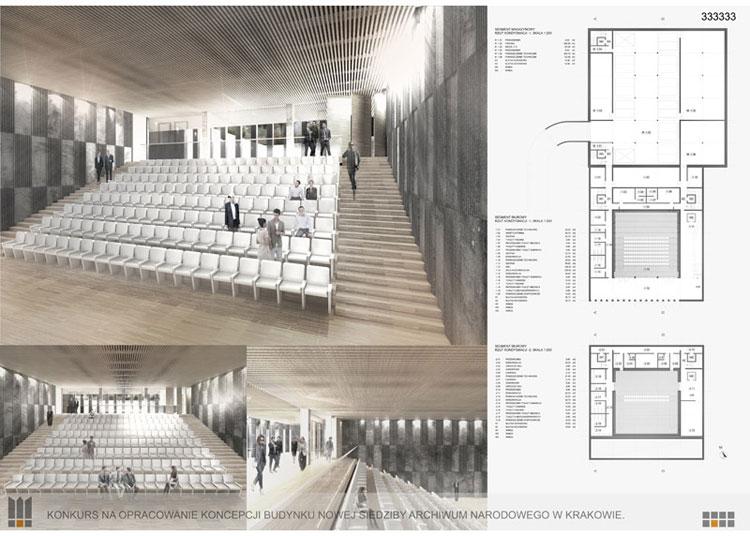 Nowa siedziba Archiwum Narodowego w Krakowie. Projekt: Dresler Studio Architektura i Urbanistyka