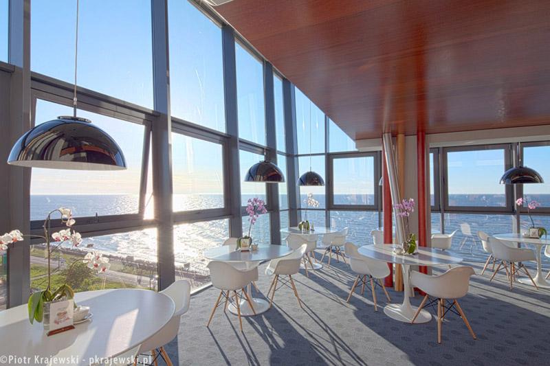Marine Hotel w Kołobrzegu. Projekt: BAMS Biuro Architektoniczne Makowski & Sołdek. Zdjęcia: Piotr Krajewski