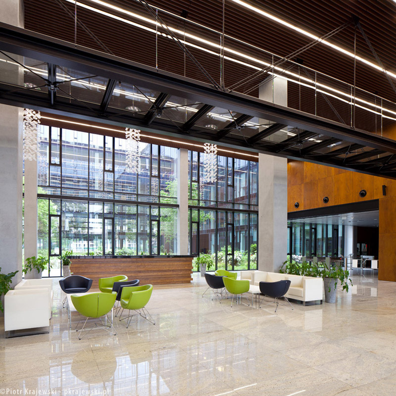 Konstruktorska Business Center w Warszawie. Projekt: Biuro Architektoniczne EPSTEIN. Zdjęcia: Piotr Krajewski