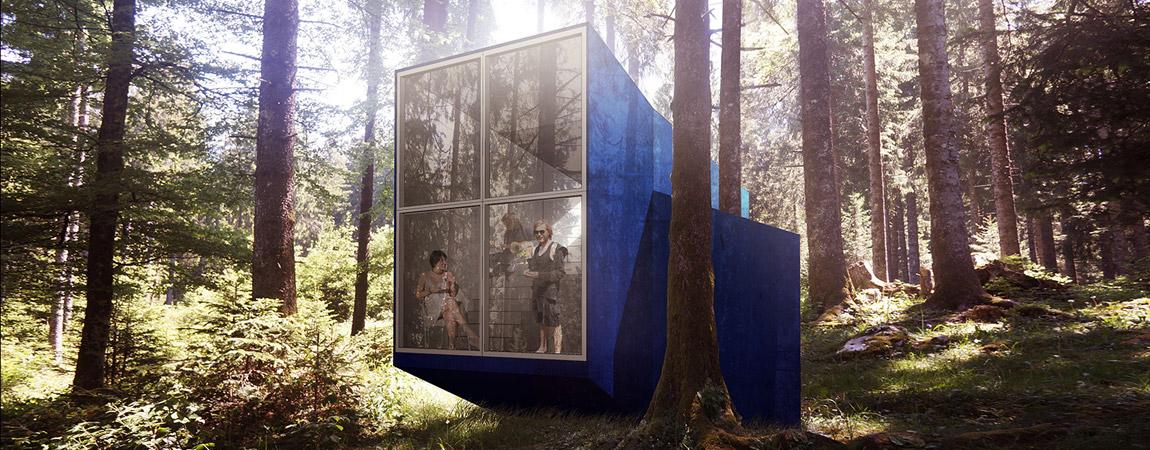 Beetle House. Projekt: Anonymous + BXBstudio + Architectural Farm + Loic Picquet