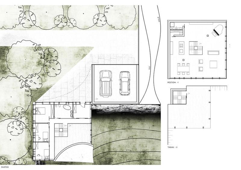 Dom dla ptaków - Projekt studencki. Autor: Diana Żurek